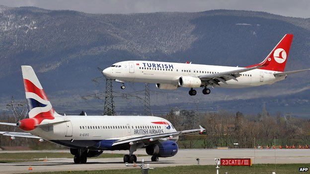 Turkish Airlines. Foto: AFP