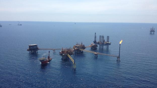 Plataformas de petróleo no México