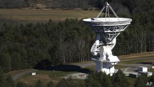 Telescopio de Green Bank en Virginia, Estados Unidos