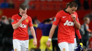 JUgadores del Manchester United