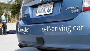 Auto que se maneja solo de Google
