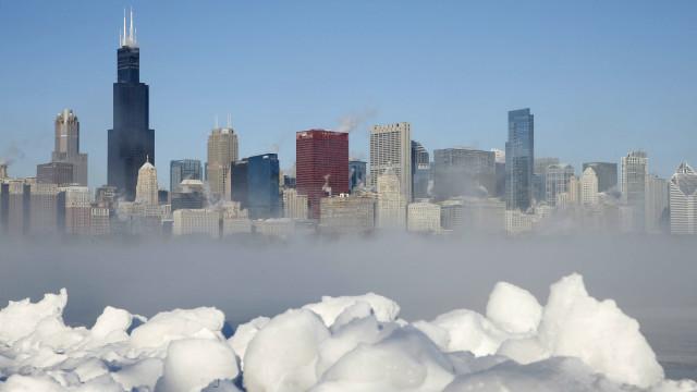 Resultado de imagen para Fotos de la Ola polar en USA, 2018