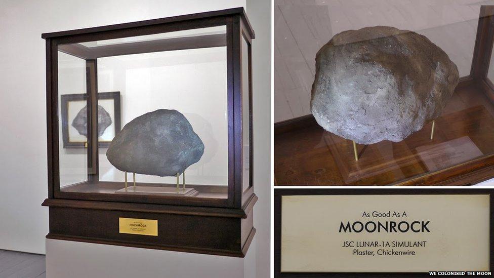 """Такой же хороший, как лунный камень"", We Colonised the Moon"
