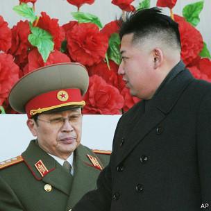 Kim Jong-un junto a Jang Song-thaek