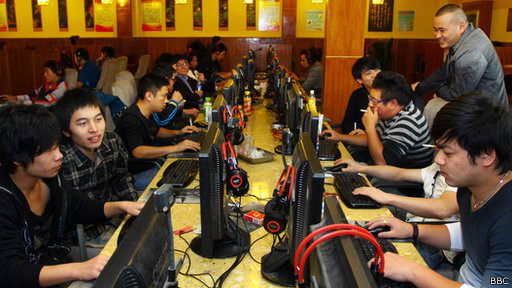 Китайские любители игр