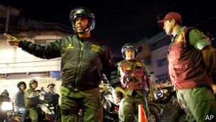 полицейская операция в Каракасе