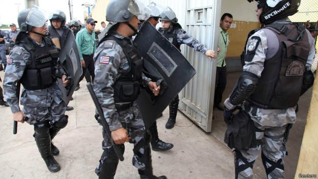 Tropa de choque entra em presídio maranhense nesta quarta-feira (Reuters)