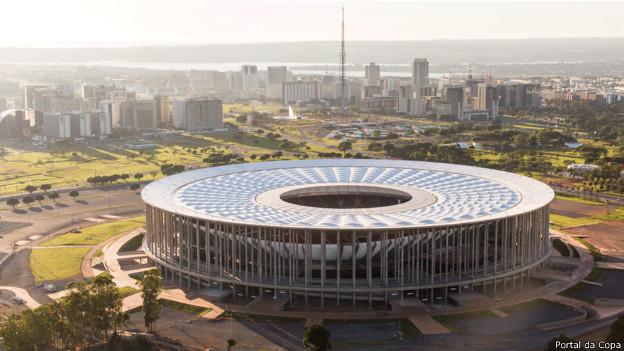 Estádio Mané Garrincha, em Brasília / Crédito da Foto: Portal da Copa