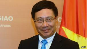 Phó Thủ tướng, Ngoại trưởng Phạm Bình Minh