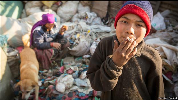 Ребенок в Катманду
