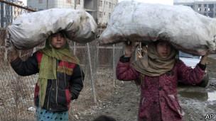 Niñas en Afganistán