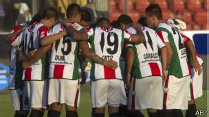 Equipo del Deportivo Palestino
