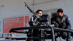Fuerzas federales en Michoacán