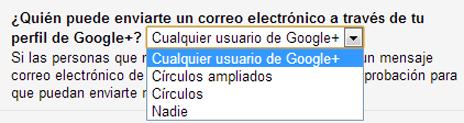 Intrucciones google +