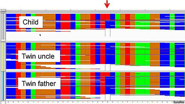 gráfico del laboratorio Eurofins