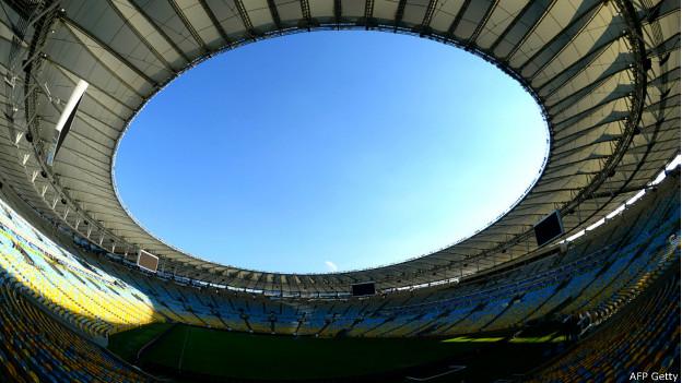 Estádio Maracanã após reforma para a Copa / Crédito da Foto: AFP Getty