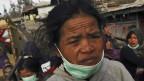 Warga di Sinabung