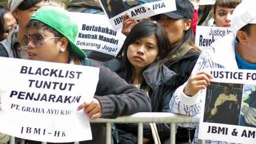 Demo PRT di Hong Kong