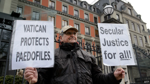 Демонстрация у здания ООН в Женеве