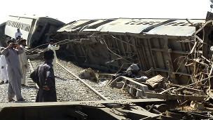 पाकिस्तान ट्रेन फाइल फोटो