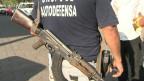 Membros da 'autodefesa' de Michoacán (BBC)