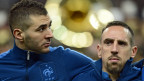 Franck Ribery iyo Karim Benzema