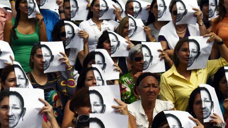 Marcha en contra de la inseguridad en Caracas