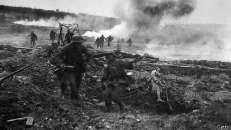 Наступление сил немецкой армии