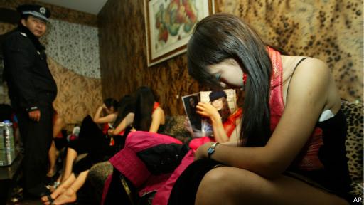 Секс-работницы в Китае