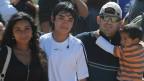 Alex Vega com a família