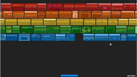Atari braekout en Google