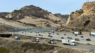 Carretera en California