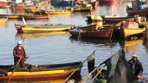 Pescadores en Arica