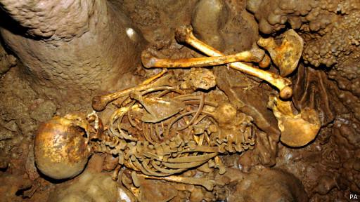 Найденный скелет
