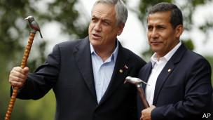 Piñera y Humala