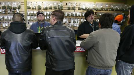 Venta de marihuana en Colorado
