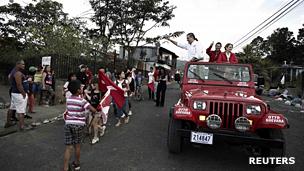 Otto Guevara, candidato a la presidencia de Costa Rica