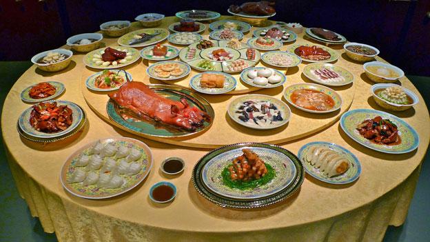 Todo parece riquísimo pero nada es comestible, el menú está hecho de plástico coloreado.
