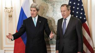 Ngoại trưởng Nga - Mỹ tại thượng đỉnh