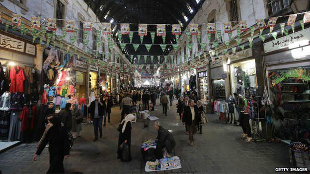 Centro de Damasco | Foto: Getty