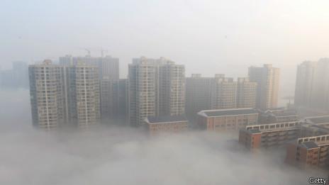 中國長沙霧霾