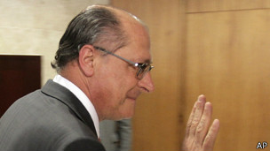 Gobernador de Sao Paulo, Geraldo Alckmin