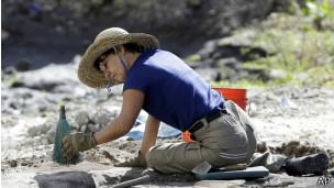 Arqueólogos en Miami