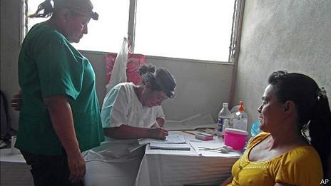 Programa de detección de cáncer en Nicaragua