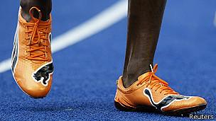Zapatillas de Usain Bolt