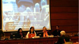UPR 2014 ở Geneva