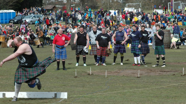 苏格兰历史悠久的高地运动会