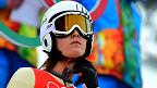 Coline Mattel, saltadora de esquí francesa