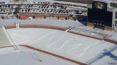 Estadio de fútbol de la Universidad de Misuri