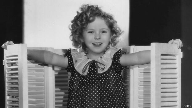 Shirley Temple, alrededor de 1935